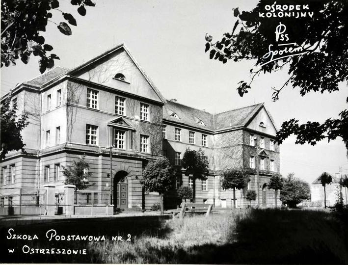 Wakacje 1971 roku, Szkoła Podstawowa nr 2 jako ośrodek kolonijny Powszechnej Spó..., stare zdjęcia -