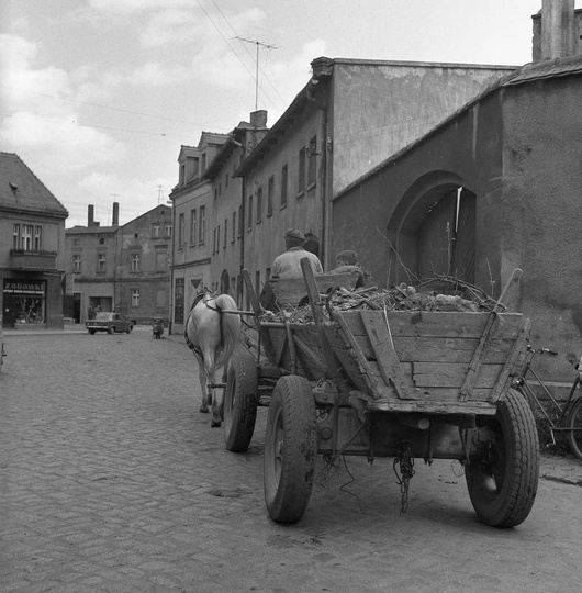 Ulica Strumykowa, rok 1971. Zdj. Cz. Bojszczak ze zbiorów Muzeum Regionalnego., stare zdjęcia -