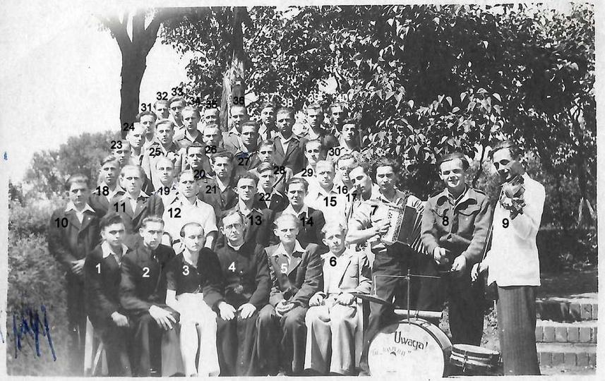 Stowarzyszenie Młodzieży Polskiej (Stowarzyszenie Młodzieży Katolickiej) w Ostrz..., stare zdjęcia -