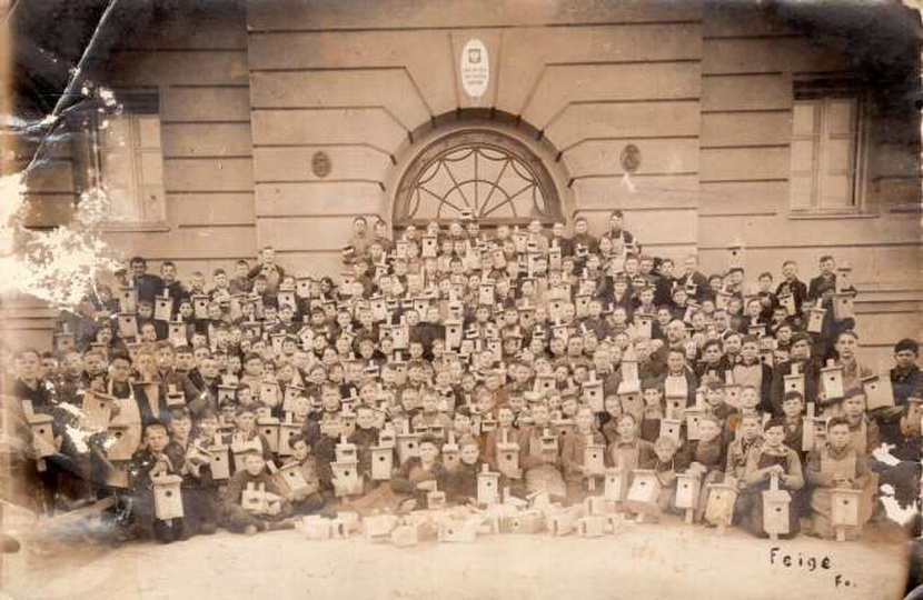 Publiczna Szkoła Dokształacająca Zawodowa, stare zdjęcia -