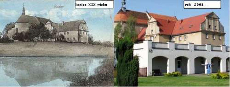Klasztor dawniej i dzis..., stare zdjęcia -