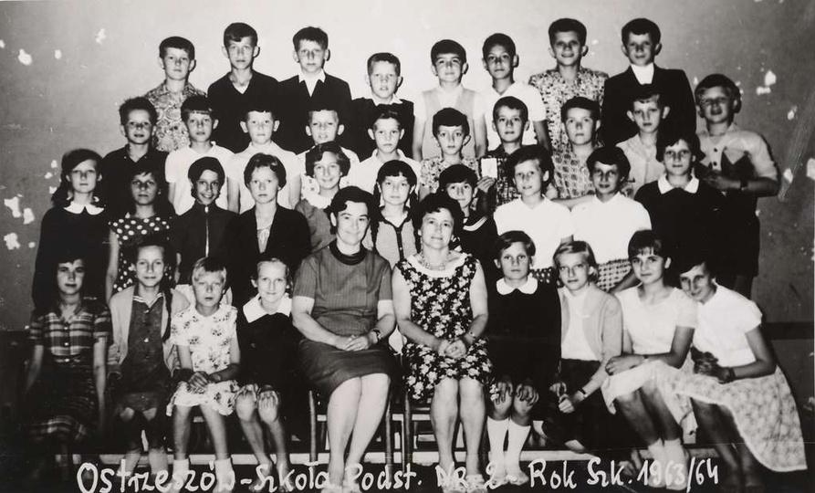 Szkoła Podstawowa nr 2. Rok szkolny 1963/64. Komentarze mile widziane., stare zdjęcia -
