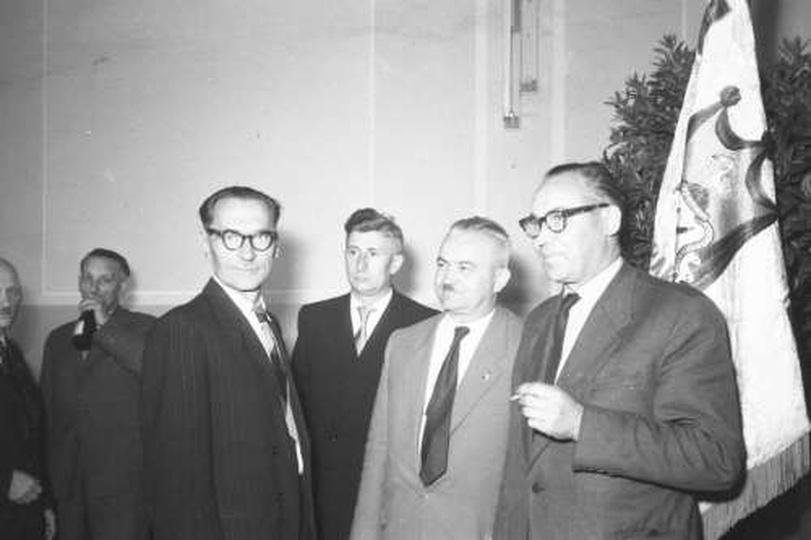 1960 r. 350-lecie rzemiosła, stare zdjęcia -