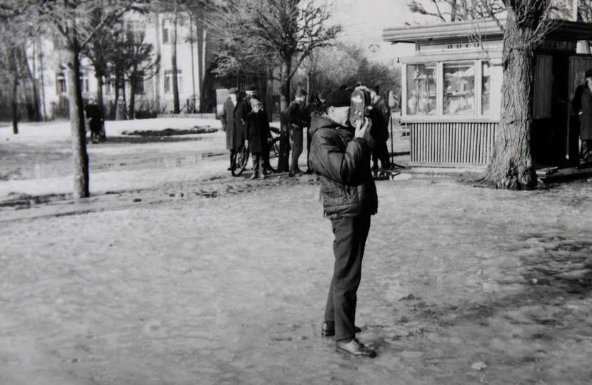 Jerzy Makles tak wspomina Pierwszy Cross Przełajowy: To było w sobotę 13 marca ..., stare zdjęcia -