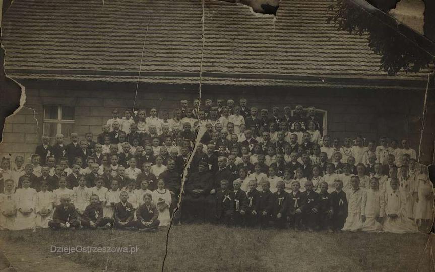 90 lat temu, 10.07.1930 r. zmarł ostrzeszowski proboszcz, duszpasterz, działacz ..., stare zdjęcia -
