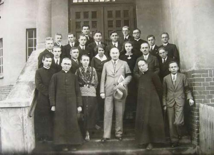 Gimnazium księży Salezjanów - Matura 1935 rok - 75 - lecie., stare zdjęcia -