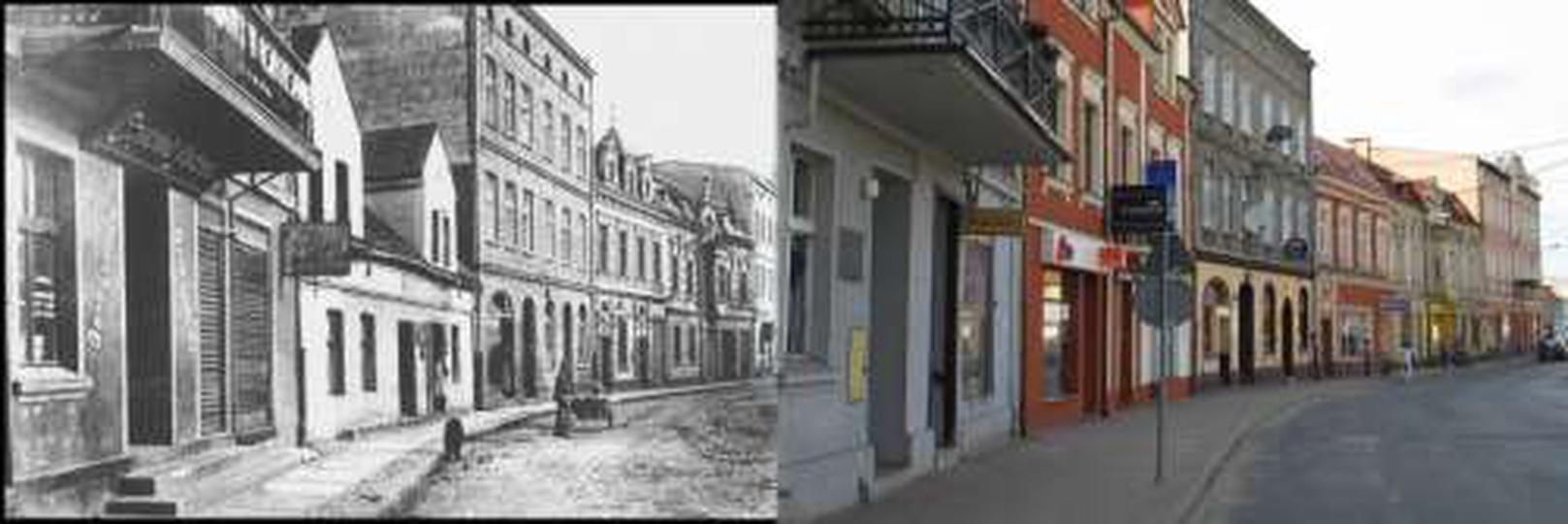 Ul. Sikorskiego, dawniej Krakowska, stare zdjęcia -