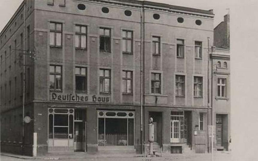 Hotel Deutsches Haus, Rynek, stare zdjęcia -