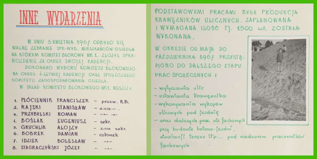 Osiedle M. Nowotki (Zamkowe)., stare zdjęcia -