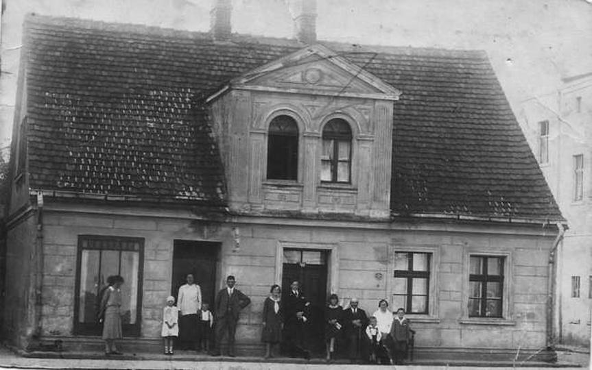 Kamienica przy Stawku., stare zdjęcia -