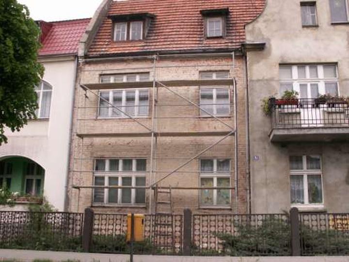 Kamienica przy ul. Piastowskiej, stare zdjęcia -