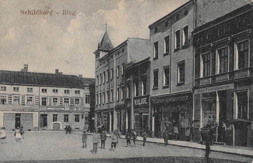 Fragment rynku z początku XX w. Zdjęcie wprawdzie znane ale zeskanowane z orygin... -