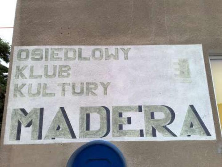 Osiedlowy Klub Kultury MADERA, stare zdjęcia -