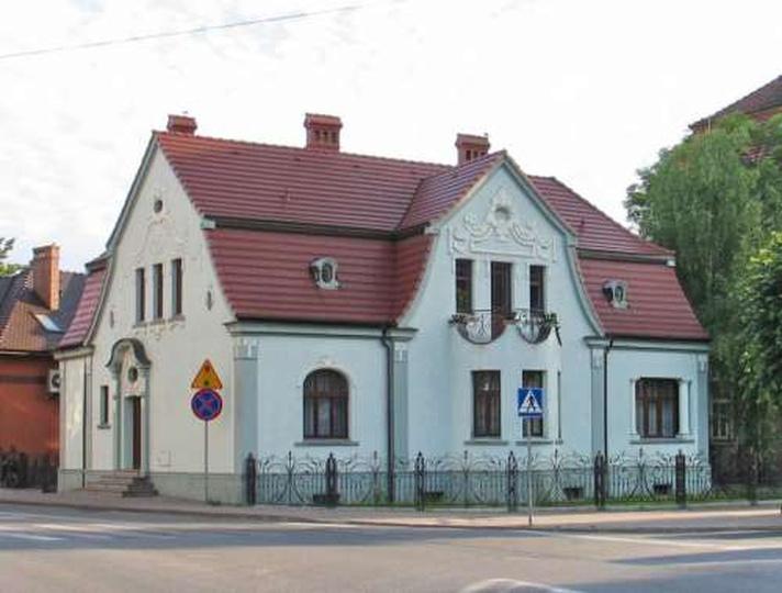 Dom na rogu Gorgolewskiego i Zamkowej, stare zdjęcia -