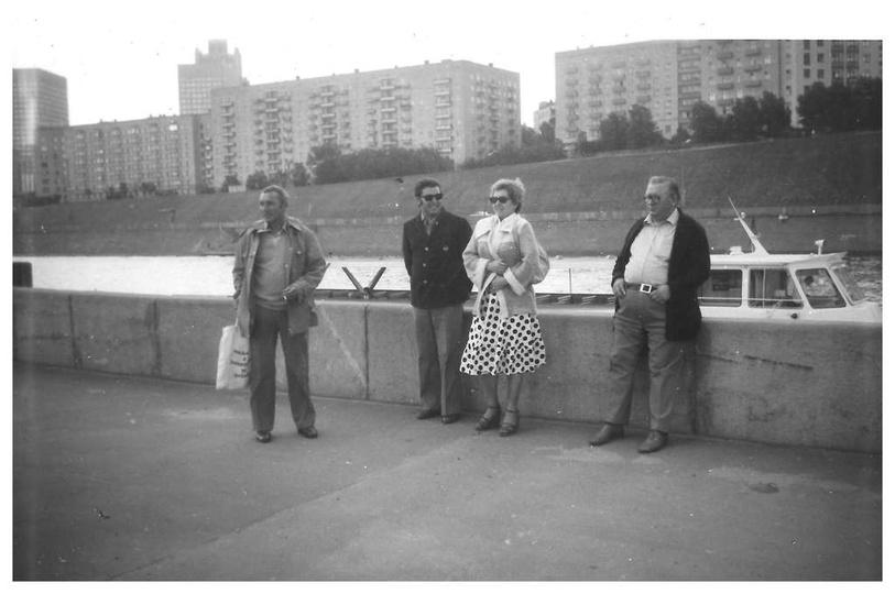 Ostrzeszowiacy na olimpiadzie w Moskwie w 1980 roku., stare zdjęcia -