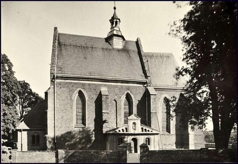Kościół farny lata 60-te., stare zdjęcia -