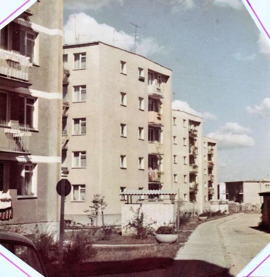 Osiedle M. Nowotki (Zamkowe). Koniec lat 70-tych, bloki nr 19,20,21,22., stare zdjęcia -