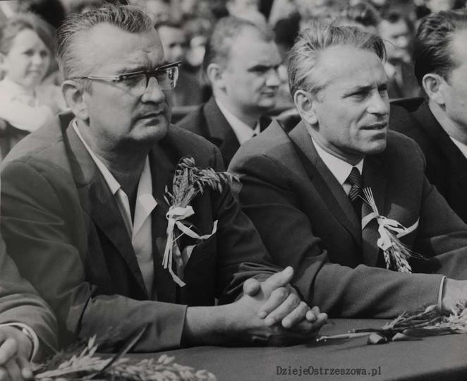 25 lat PRL. 14-16 IX 1969 rok.  25-lecie powstania PRL-u, obchodzono w Ostrzes..., stare zdjęcia -