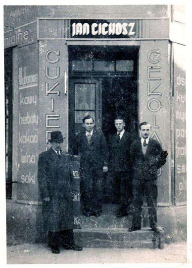 Sklep p.Jana Cichosza, Rynek, stare zdjęcia -