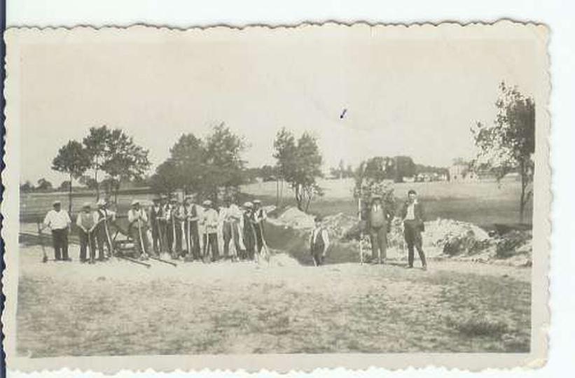 Basen Kapielowy Ostrzeszow 1935, stare zdjęcia -
