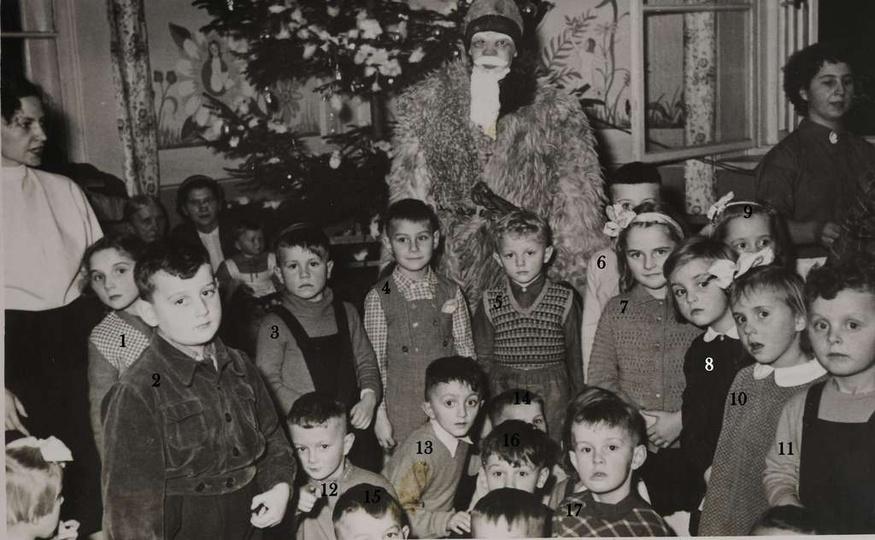 Gwiazdka w przedszkolu przy ulicy Kościuszki 2, obecnie Środowiskowy Dom Samopom..., stare zdjęcia -