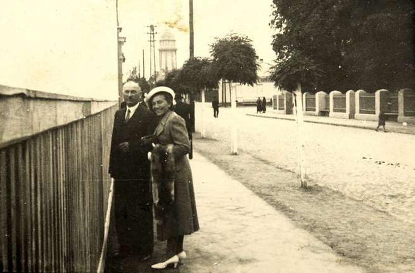 Ul. Krakowska lata ok. 1930, stare zdjęcia -