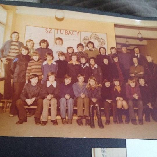 Rocznik 1962 Szkoła Podstawowa nr 1, VII lub VIII klasa, stare zdjęcia -
