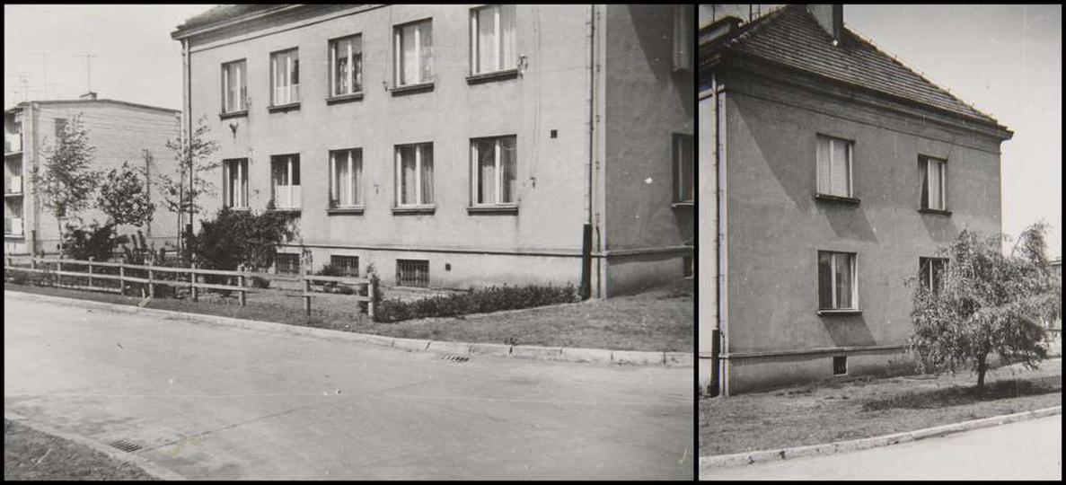 Osiedle M. Nowotki (Zamkowe). Budowę bloku nr 3, tzw nauczycielskiego, rozpoczę..., stare zdjęcia -
