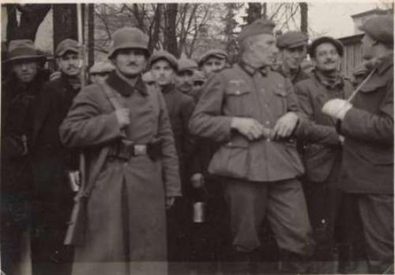 Ostrzeszów - wrzesień 1939 r., stare zdjęcia -