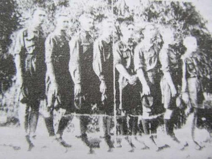 """Zdjęcie z książki """"70 lat harcerstwa ostrzeszowskiego"""" - część I - Henryk Więcek... -"""