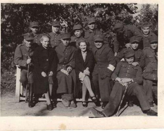 Stalag XXI  Schildberg   1940, stare zdjęcia -