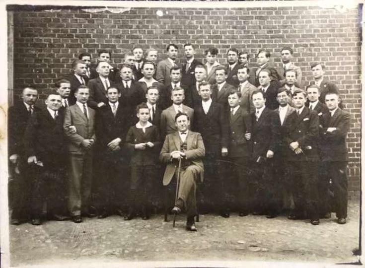 Kółko Muzyczne w Ostrzeszowie, Państwowe Seminarium Nauczycielskie. Rok ok. 1930, stare zdjęcia -