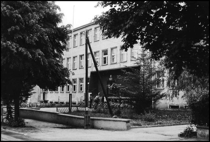 Maj 1988 rok, Szkoła Podstawowa nr 1., stare zdjęcia -