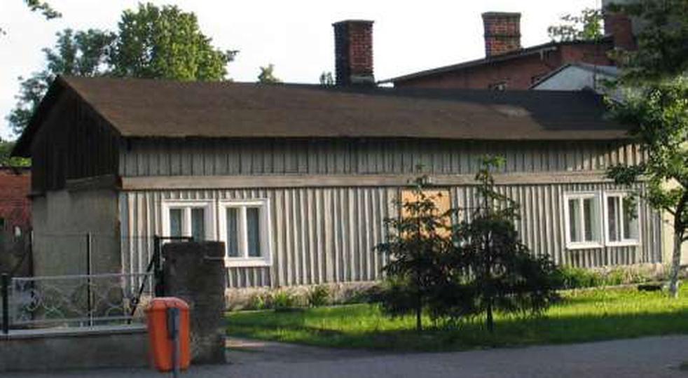 Jeden z ostatnich drewnianych domów, ul. Zamkowa, stare zdjęcia -
