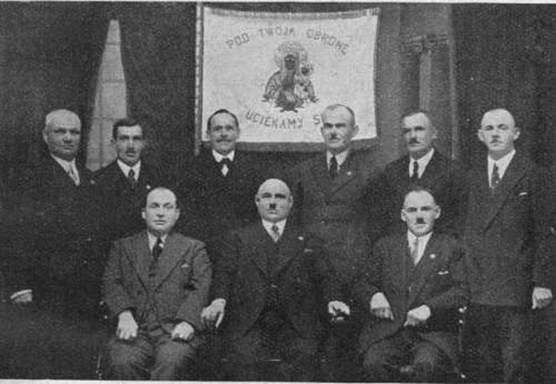 Ostrzeszów 1935, stare zdjęcia -