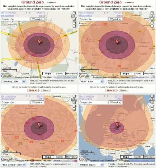 Wybuch bomby atomowej w Ostrzeszowie, stare zdjęcia -