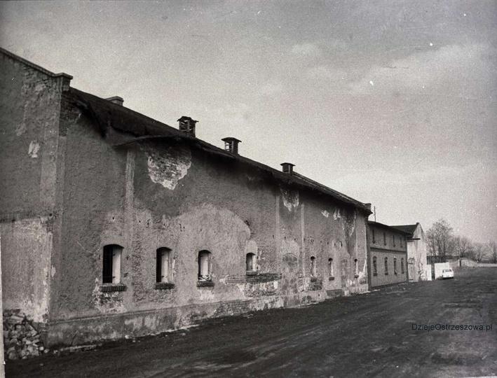 Ulica Hurtowa, prawdopodobnie początek lat siedemdziesiątych. Obecnie przedsiębi..., stare zdjęcia -
