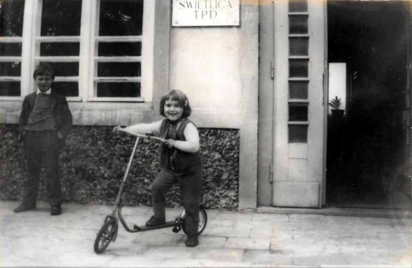 Świetlica Towarzystwa Przyjaciół Dzieci, rok ok.1972., stare zdjęcia -