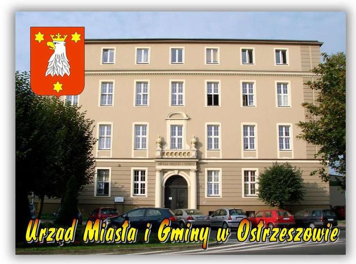 Urząd Miasta i Gminy w Ostrzeszowie., stare zdjęcia -