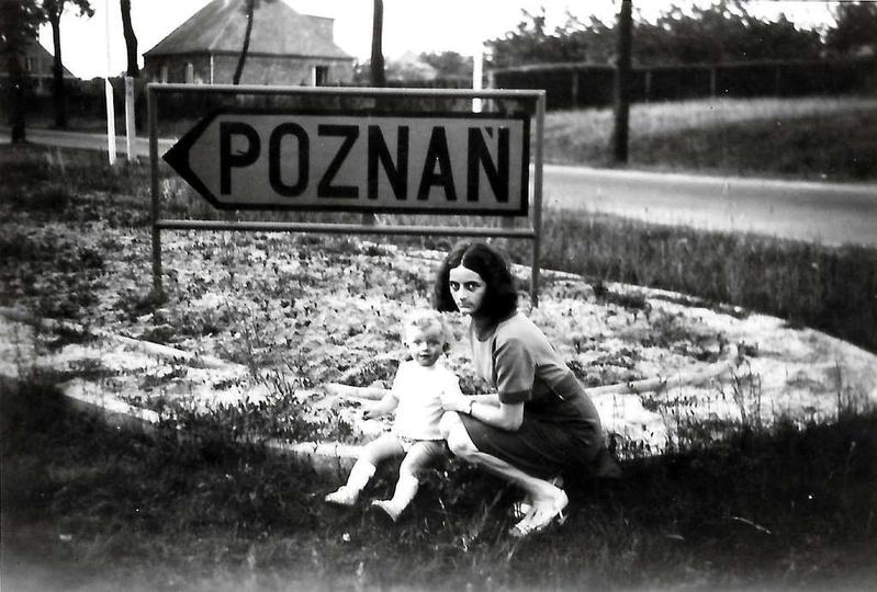 """Czerwiec 1966 rok, ulica Sikorskiego przy wylocie na """"autostradę"""", stare zdjęcia -"""