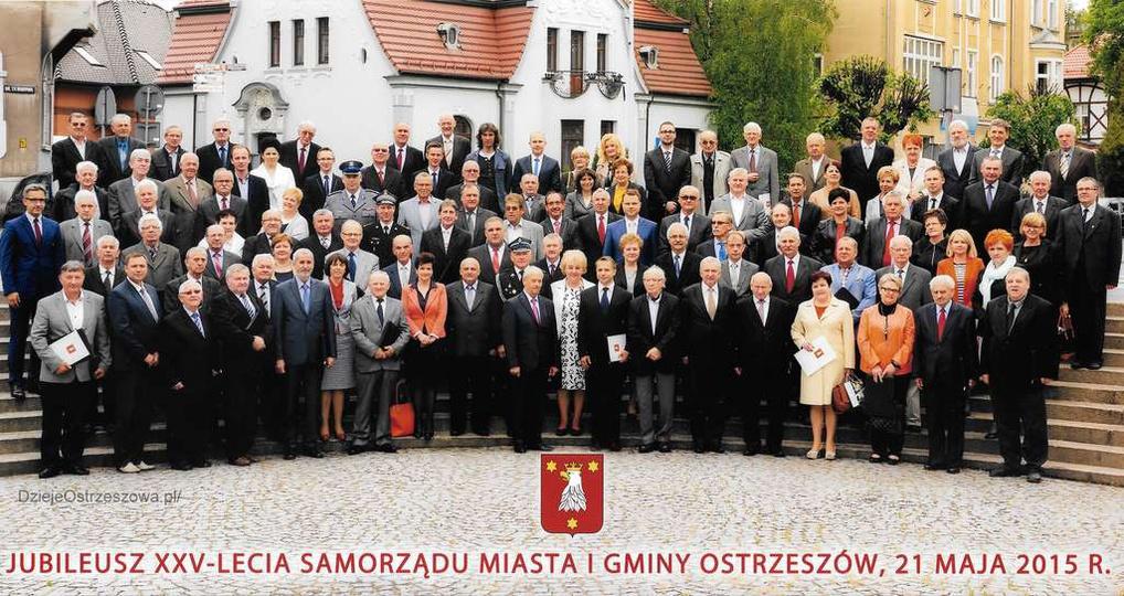 21 maja 2015 rok. 25-lecie samorządu terytorialnego w Ostrzeszowie. Z okazji j..., stare zdjęcia -