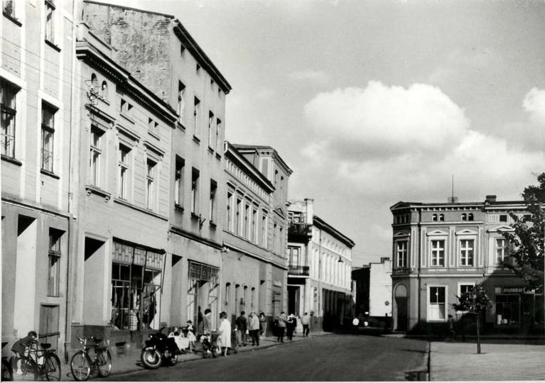 Rynek, strona północna, lata 60-te., stare zdjęcia -