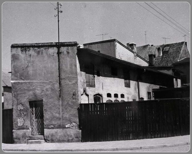 Ulica Poprzeczna, lata 60-te., stare zdjęcia -