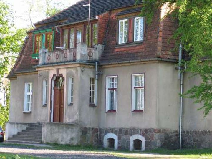 Dwór Małeckich w Godziętowach, stare zdjęcia -