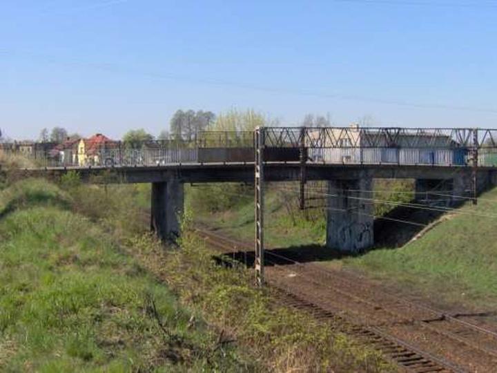 Most łączący ulice św.Mikołaja, Wiejską i Jasną., stare zdjęcia -