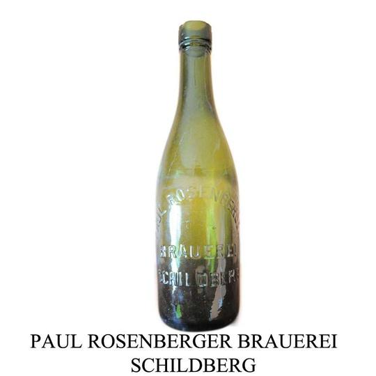 Paul Rosenberger Brauerei Schildberg. Zdjęcie otrzymane od  Andrzeja Czarneckie... -