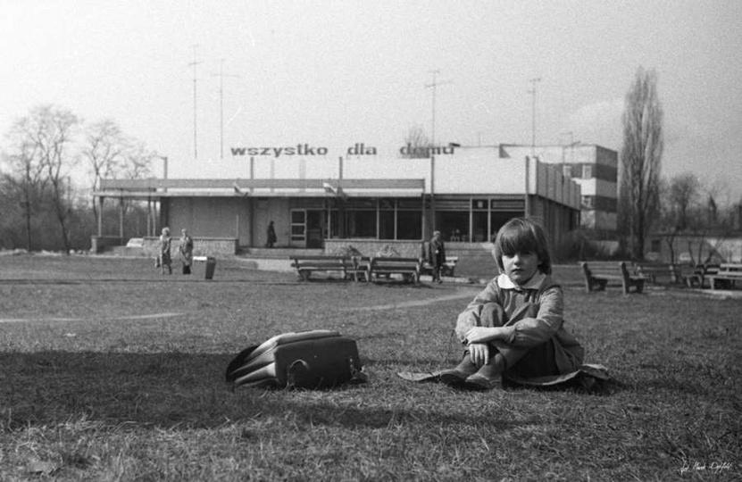 Plac Borek, rok 1986., stare zdjęcia -