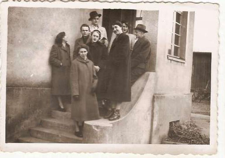 Stare zdjęcie z kategorii Ostrzeszów - ludzie -
