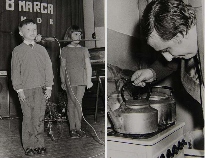 8 marca 1975 rok, obchody Dnia Kobiet zorganizowane przez Radę Zakładową ZZPPiS ..., stare zdjęcia -