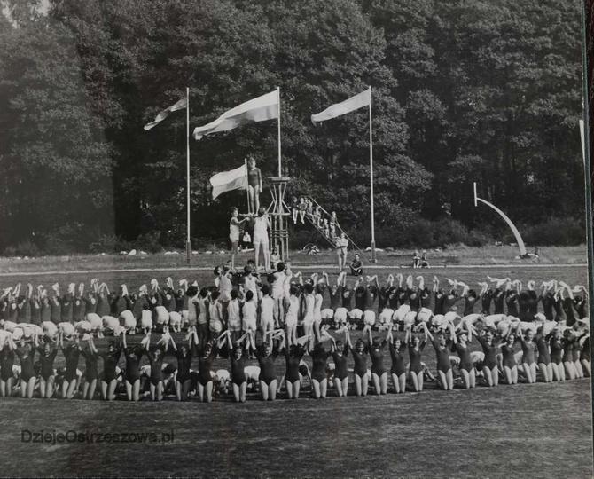 25 lat PRL. Powiatowa Wystawa Rolnicza w Ostrzeszowie. 14-16 IX 1969 rok. Rok..., stare zdjęcia -